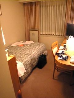 ホテルへ帰ってきました。